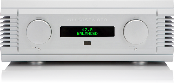 Nu-Vista 800 Front Panel