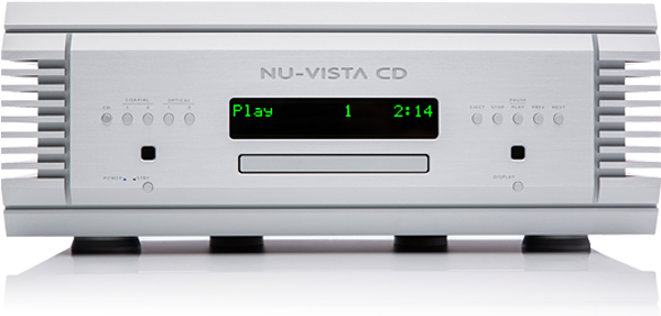 Nu-Vista CD Player Front Panel