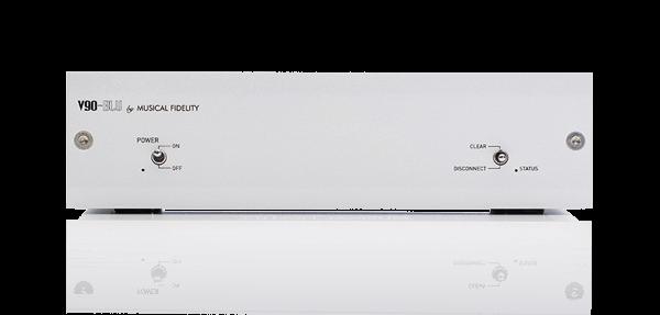 V90-BLU Front Panel