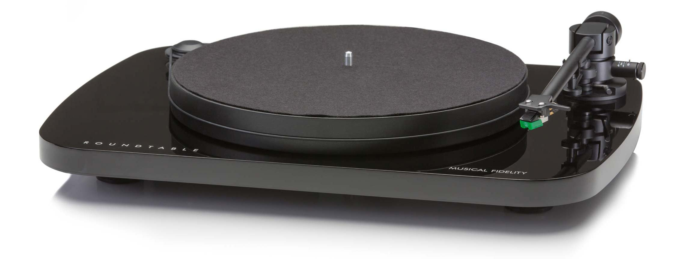 Roundtable Turntable in Black
