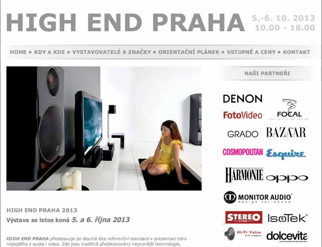 Musical Fidelity at the High-End Show - Prague