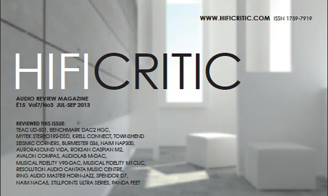 Image for Hi-Fi Critic Magazine Declares the V90-DAC 'Exceptional'!
