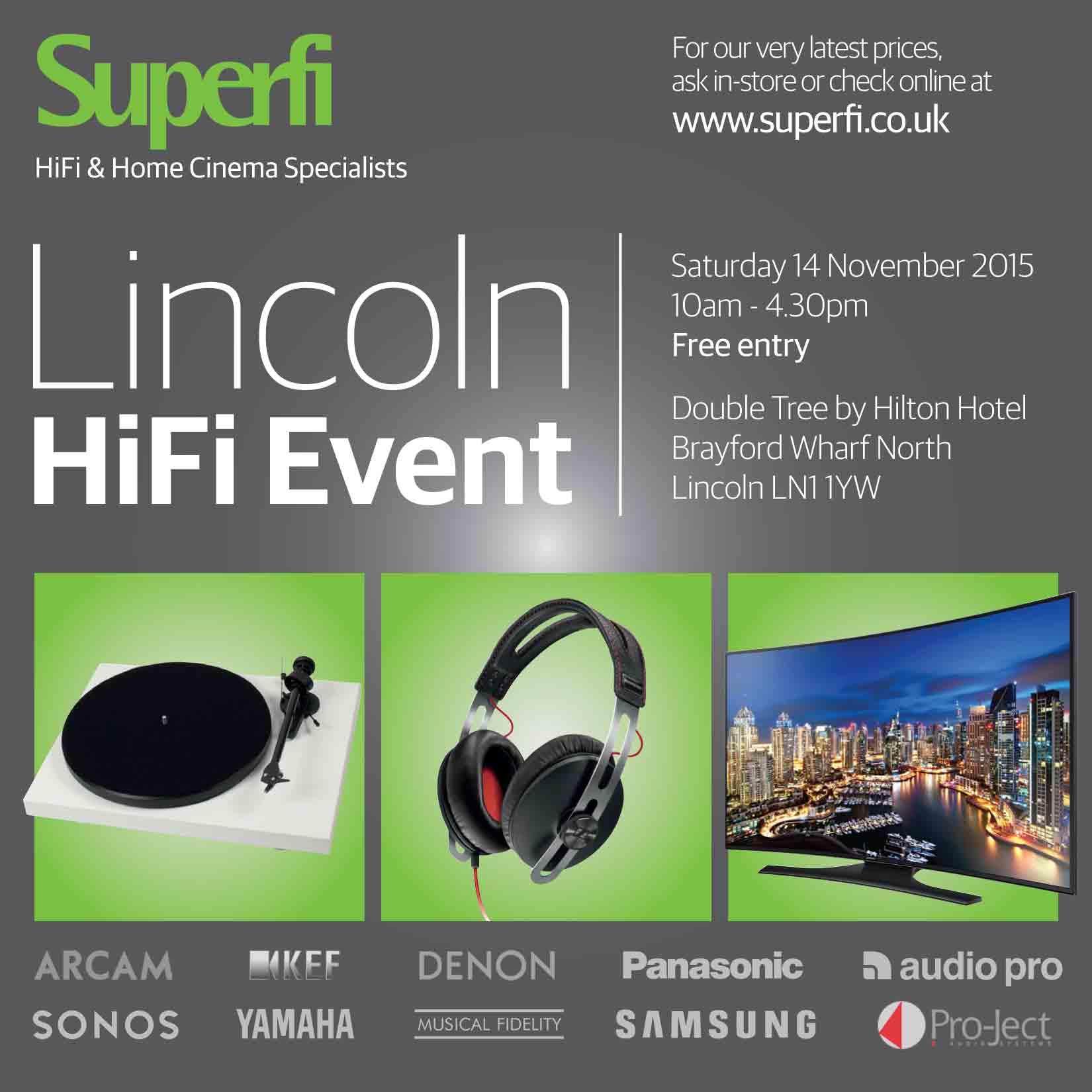 Lincoln HiFi Event