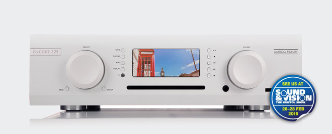 Encore 225 Music System Premieres At Bristol Show