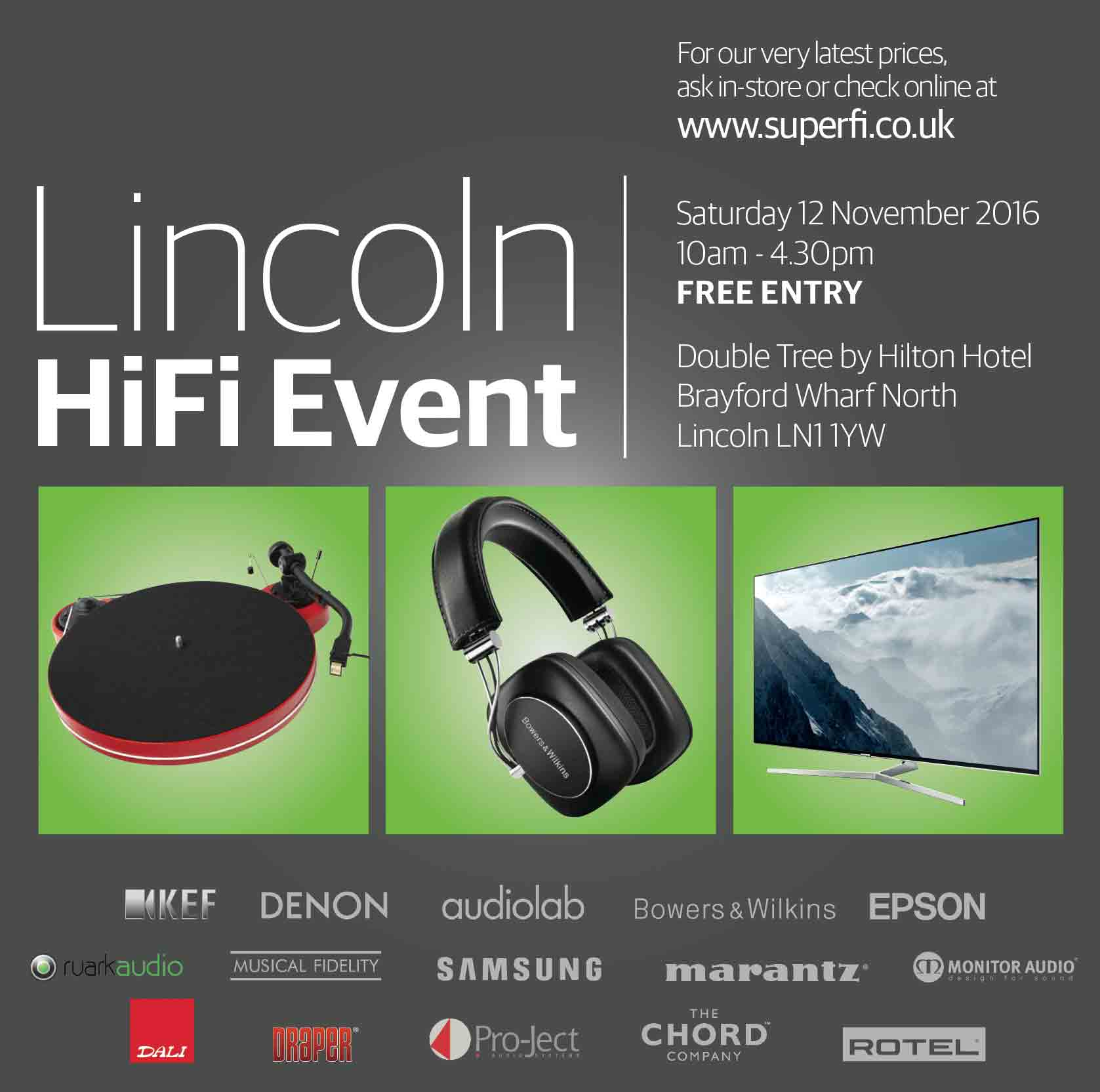 Image for Lincoln HiFi Show 2016