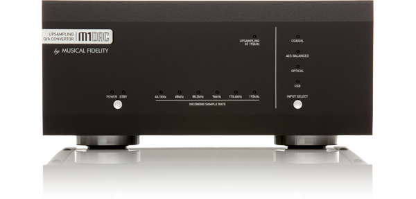 M1DAC Front Panel