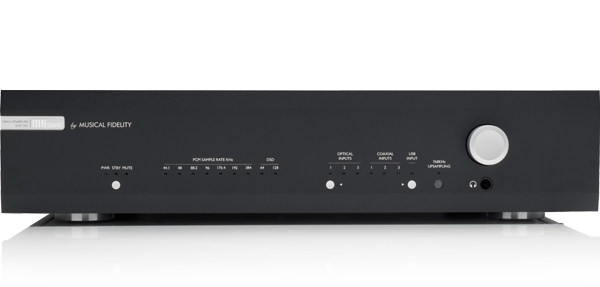 M6s DAC Front Panel