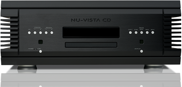 Nu-Vista CD Player Rear Panel
