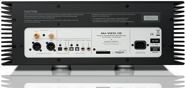 Nu-Vista CD Player Extra Image