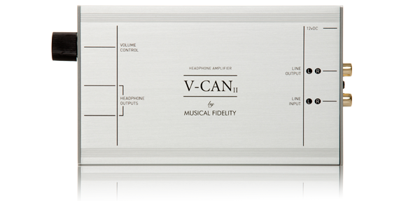 V-CANII Front Panel