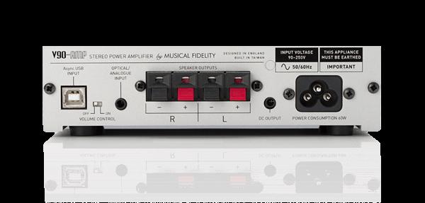 V90-AMP Rear Panel