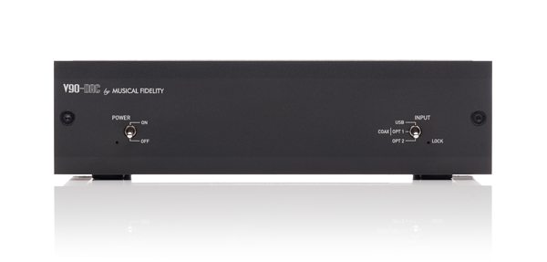 V90-DAC Front Panel