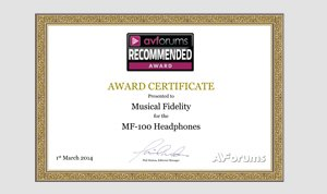 MF-100 Award Image