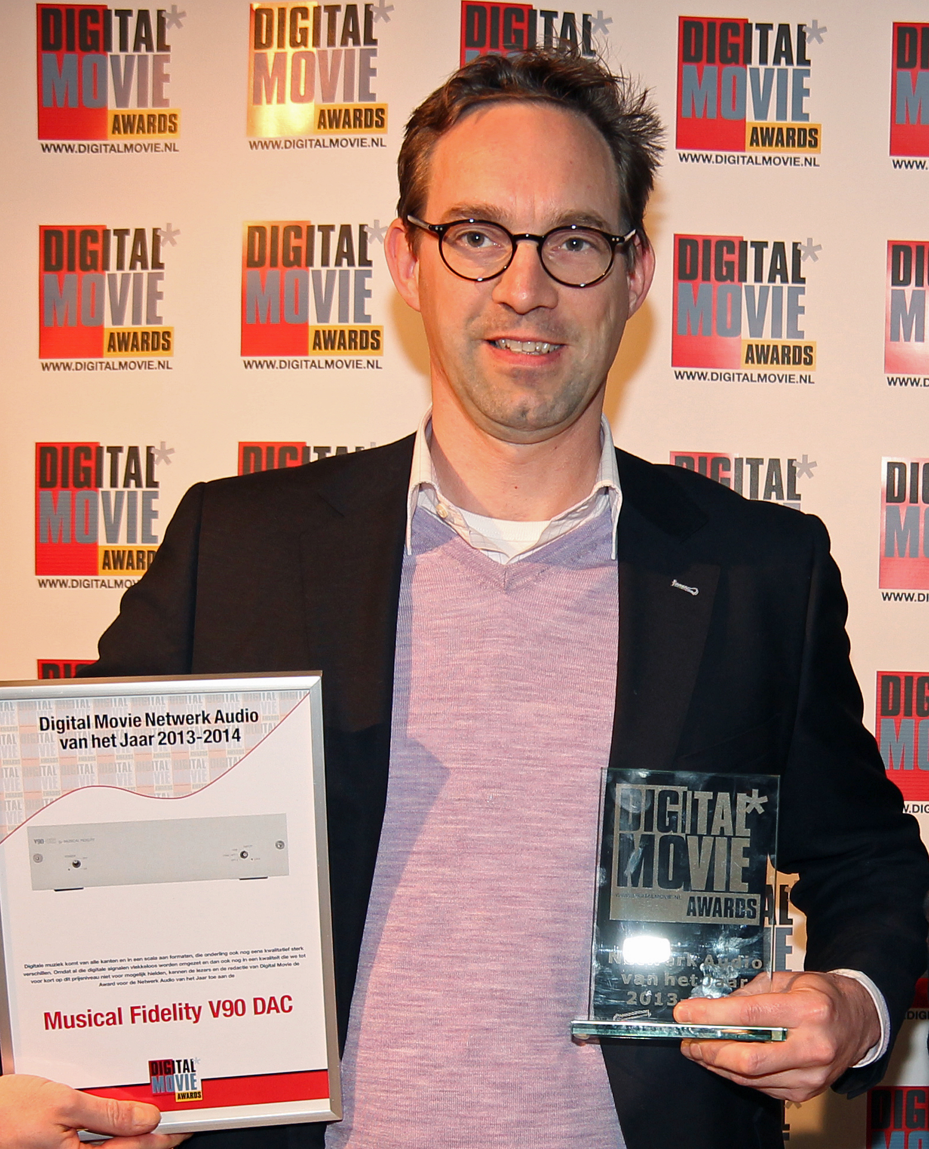 Image for V90 DAC Wins Digital Movie Award!