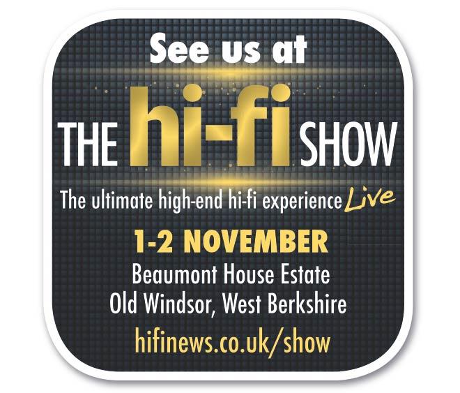 Musical Fidelity at the Hi-Fi Show, Windsor