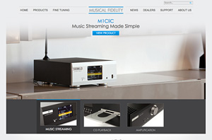 Musical Fidelity Launches New Website