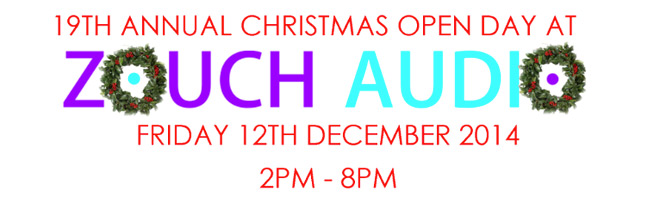 Christmas Open Day at Zouch Audio