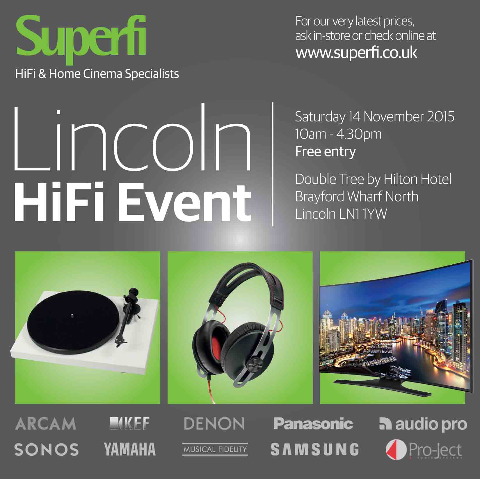 Image for Lincoln HiFi Event